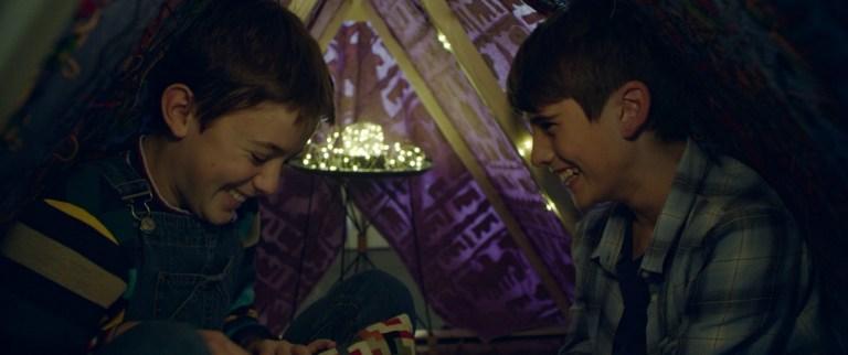Scena del film Glassboy