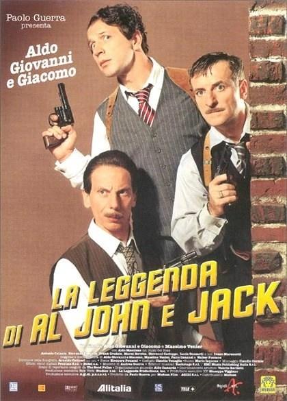 La leggenda di Al, John e Jack locandina