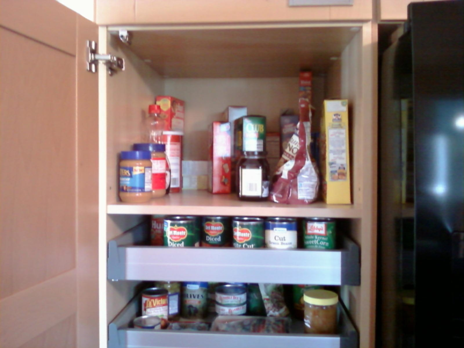 Creative Pull Out Pantry Shelves