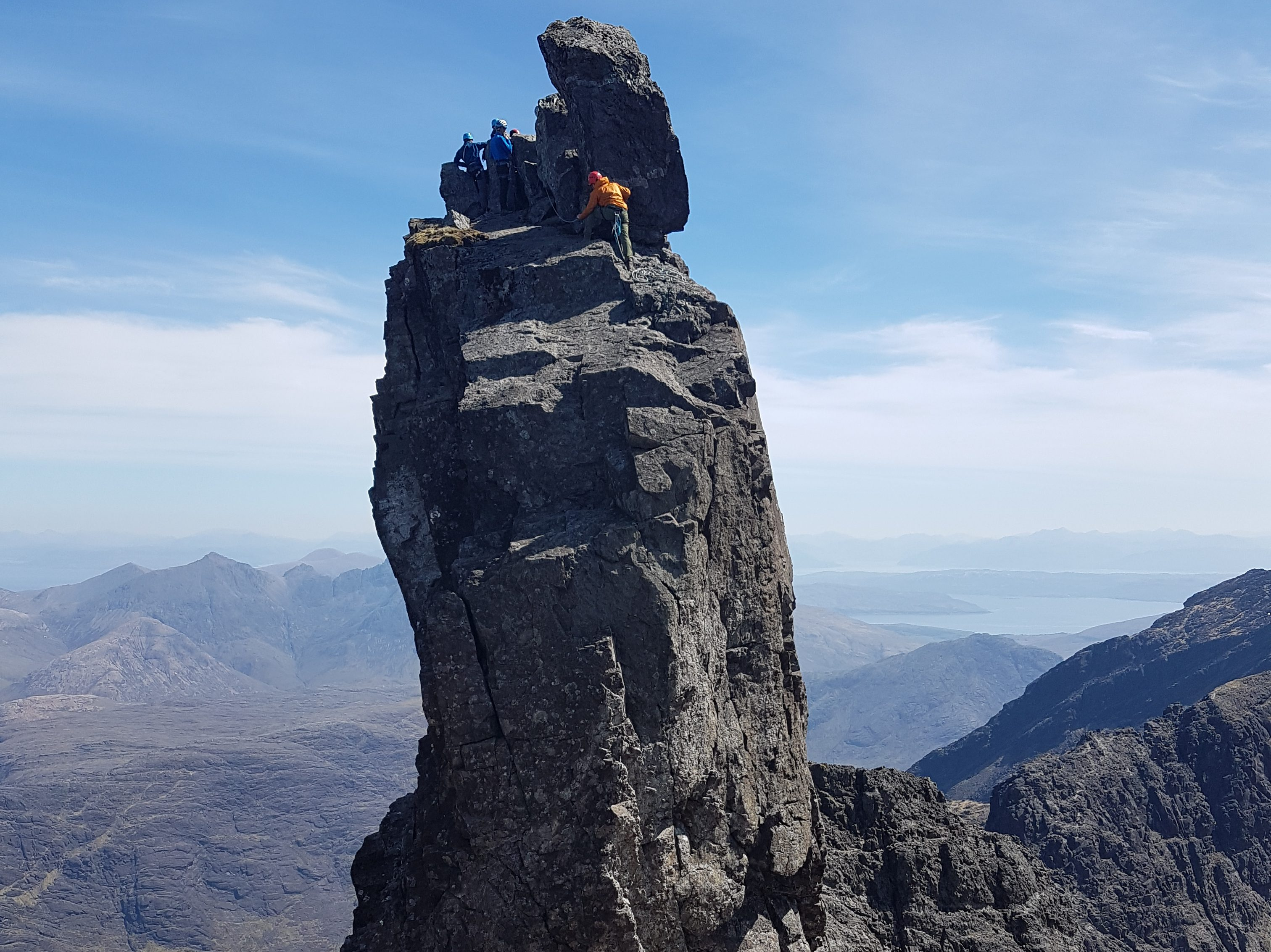 Skye Cuillin Ridge Guiding