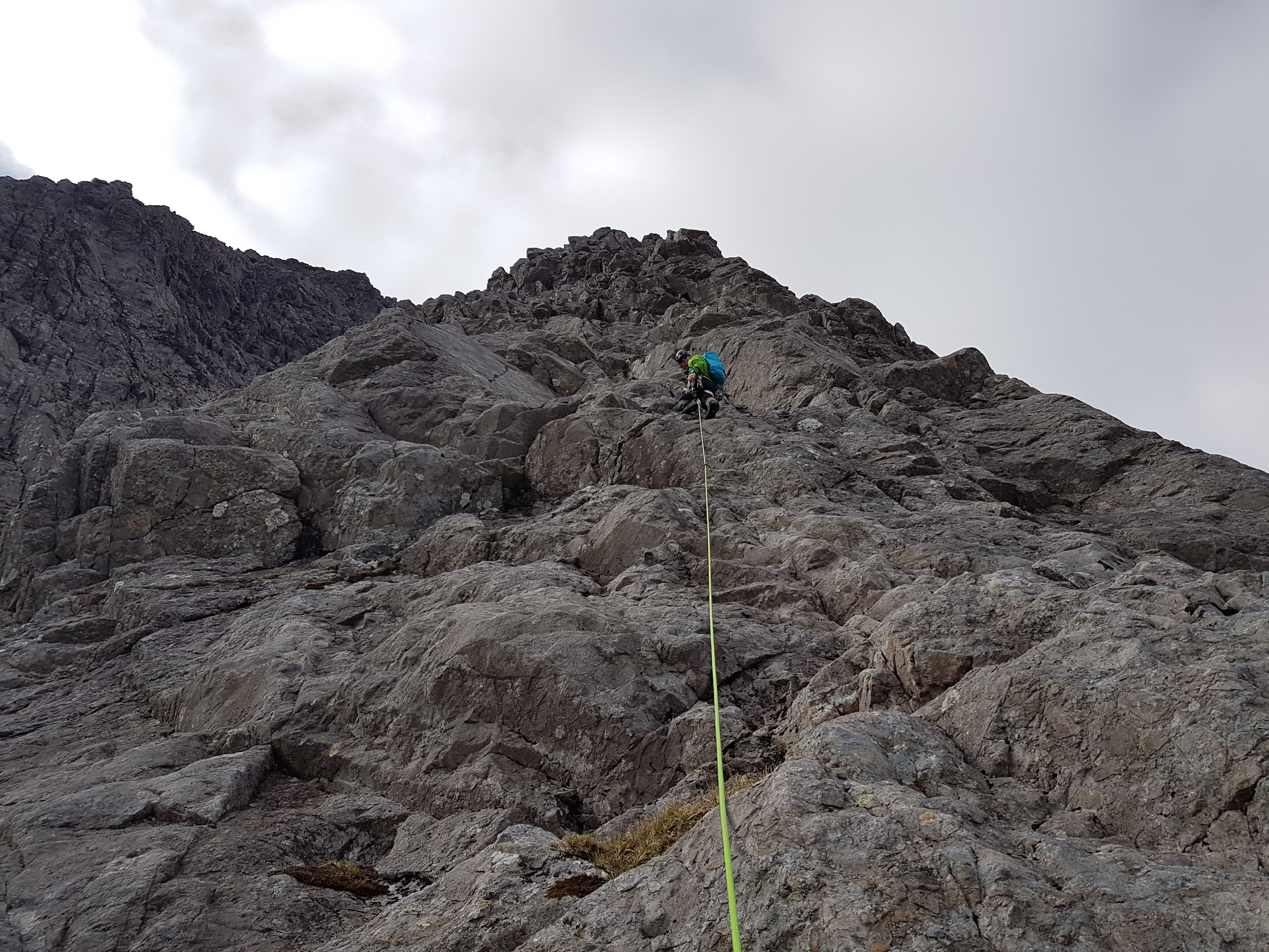 Climb Observatory Ridge, Ben Nevis with an Observatory Ridge Guide from Lochaber Guides. Experience this Great Ridge of Ben Nevis with a qualified professional.