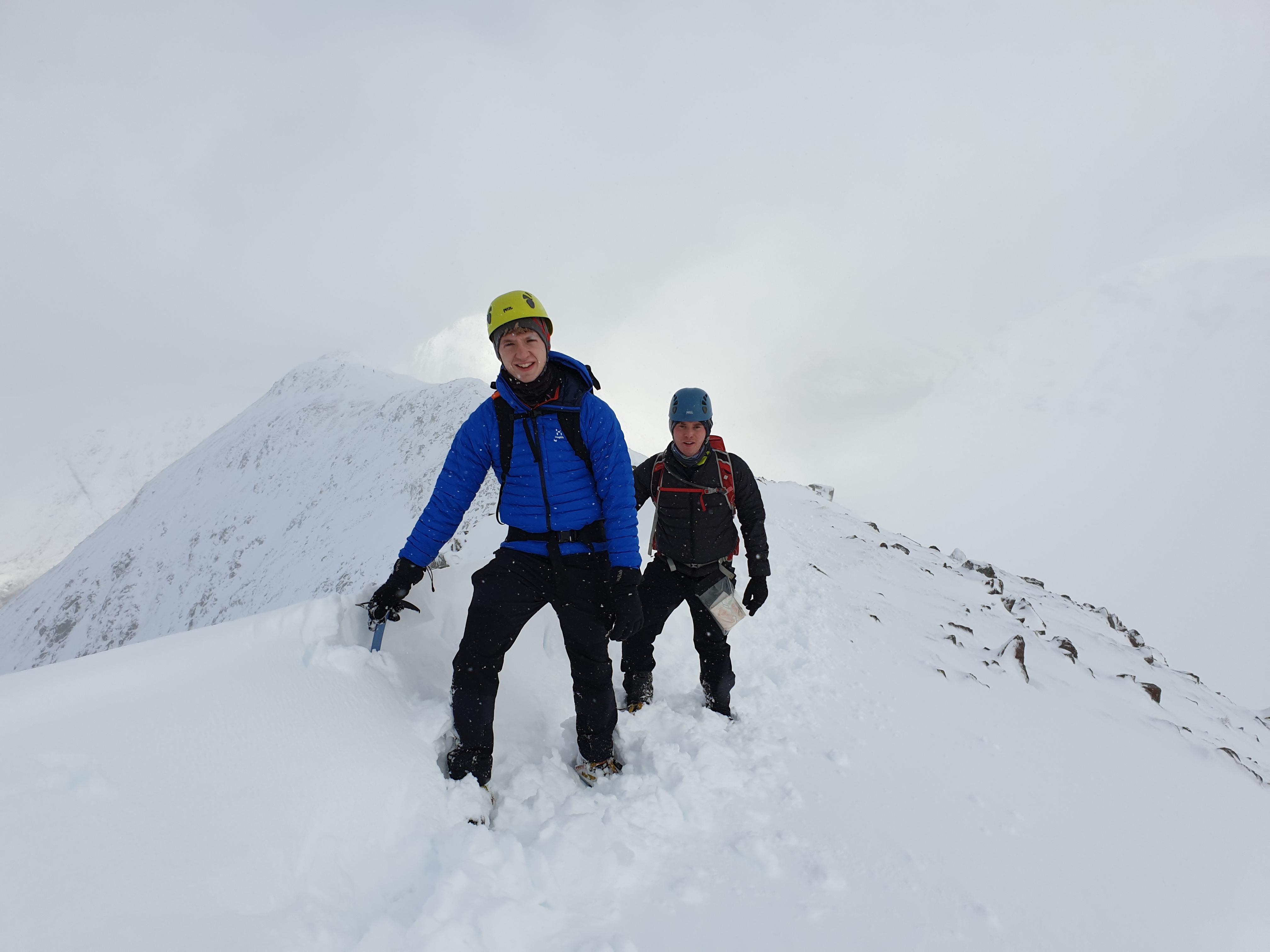 Winter Skills Course in Glencoe