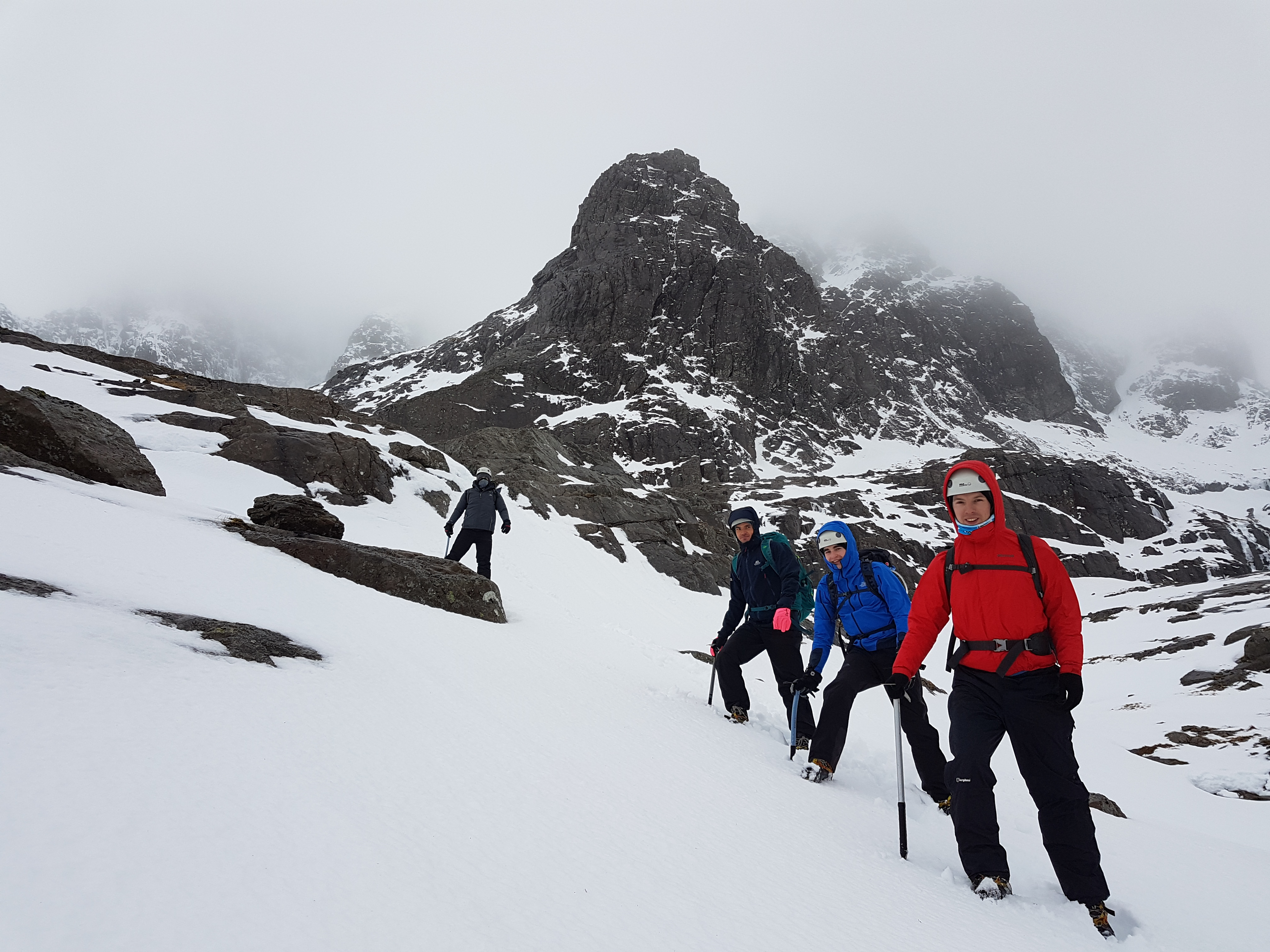 Winter Skills on the North Face of Ben Nevis
