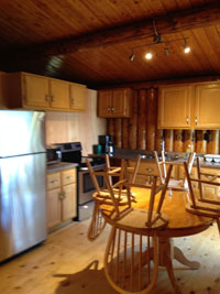 Camp Lochalsh Cabin 3 Kitchen 2016