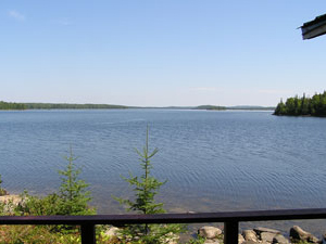 Camp Lochalsh Lakeview From Cabin 4 and 5 - Ontario Fishing - Wabatongushi Lake