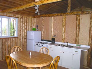Loch Island Cabin #6 - Kitchen, Wabatongushi Lake, Ontario