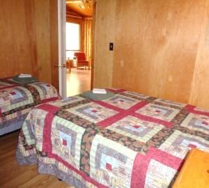Camp Lochalsh Cabin 3 Bedroom 1 Door