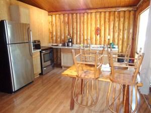 Camp Lochalsh Cabin 3 Kitchen