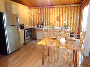 Camp Lochalsh Cabin 3 Kitchen