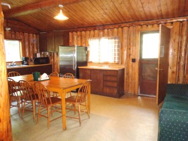 Camp Lochalsh Cabin 7 Kitchen