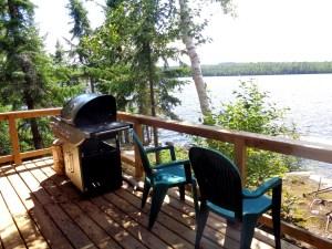 Otter Island Small Cabin Deck 1