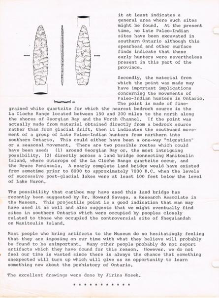 ROM Archaeological Newsletter