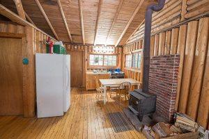 Loch Island Lodge Cabin 2 Kitchen