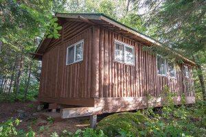 Loch Island Lodge Cabin 6 Back