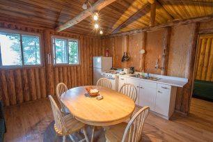 Loch Island Lodge Cabin 6 Kitchen