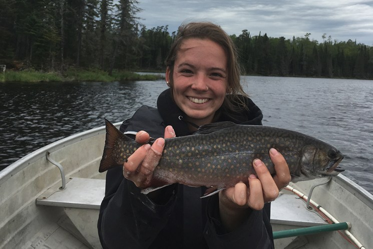 2018 Taylor with a nice Brook Trout