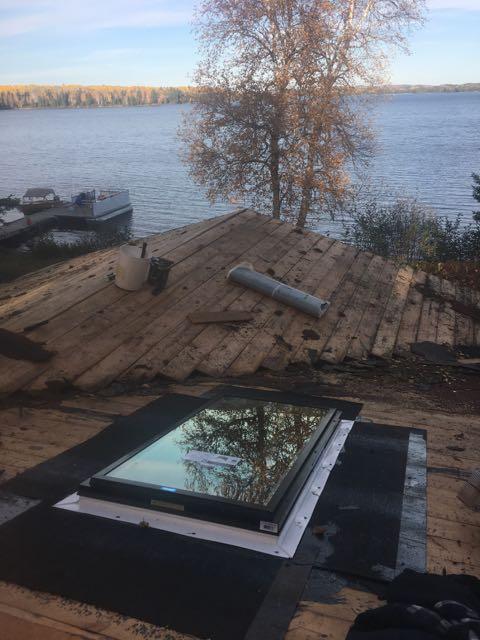 Sandy Bay shingles off
