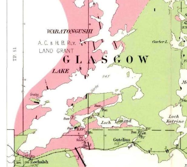 Burwash Map 1935