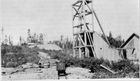 Cline Shafts #2 and #3, 1931