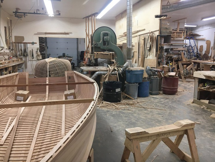 Giesler 2 boats in build