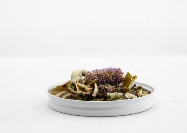 loose leaf namas-tea from Lochland Botanicals
