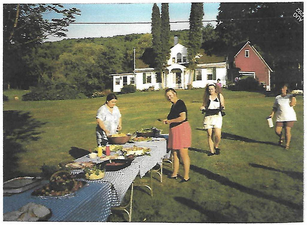 Summer Buffet at Loch Lyme Lodge - 1992
