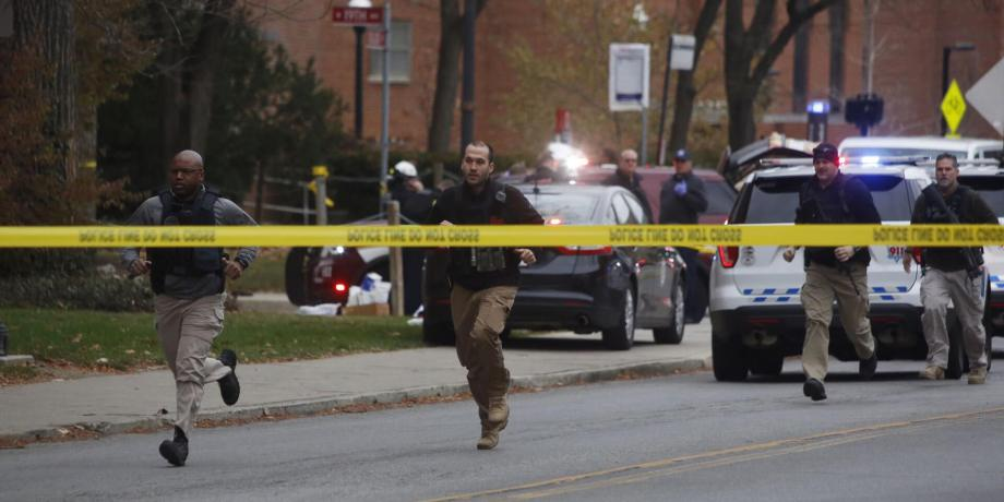 Eleven Hurt in Ohio State Attack, Stopped by a Police Officer