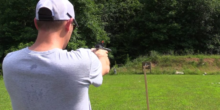 Trick Shot: Lighting a Match with a .22lr Bullet