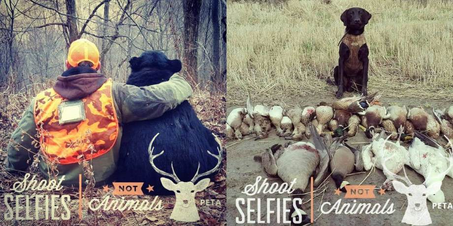 "Hunters Troll PETA's ""Shoot Selfies, Not Animals"" Filter with Hunting Photos"