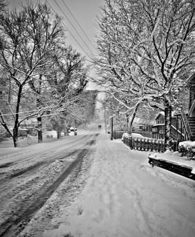 Walking on 14th near Eastland. Photoby Katherine Van Grinsven