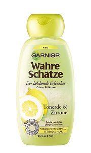 Flasche Wahre Schätze Tonerde-Zitrone