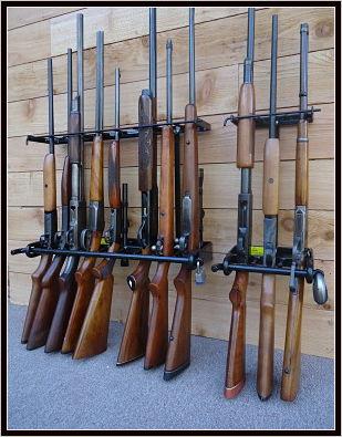 locking wall gun racks for safe shotgun