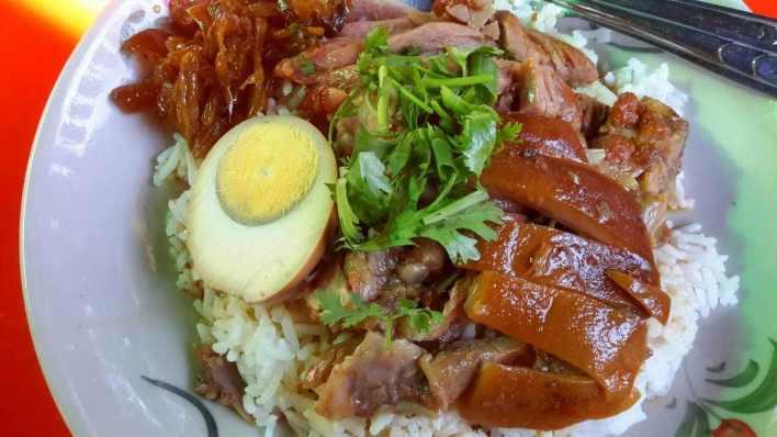 泰國豬腳飯