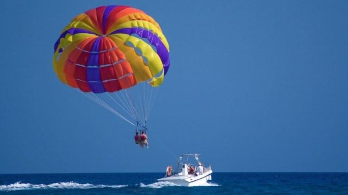 峇里島水上活動 - 拖曳傘