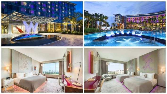 2020新加坡住宿推薦 - W Singapore – Sentosa Cove 新加坡聖淘沙灣W酒店