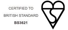 British Standard Locks - BS3621
