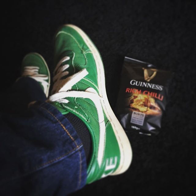 #allgreeneverything #stpatricksday #guinness #nike #worldwide #outfit #today Happy St. Paddy's Day y'all. Gonna have myself some Guinness and Kilkenny later. Cheers! #boomshalaklakboom