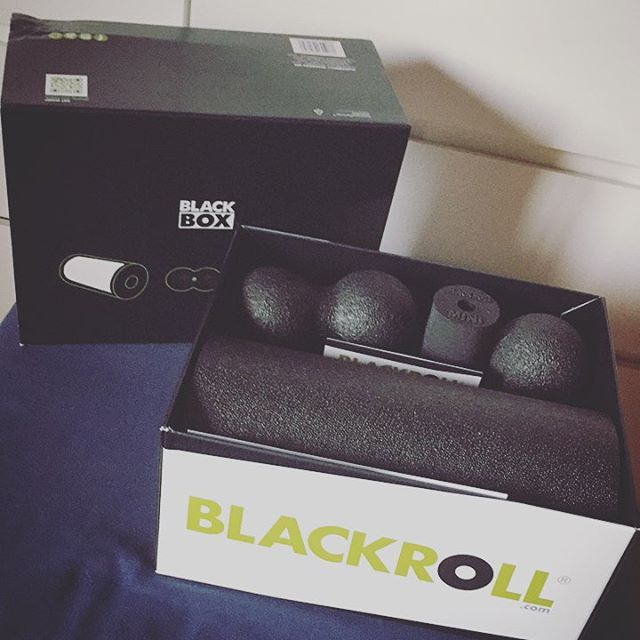 Finally reached that age where I have to do more for my health and body. Doesn't comes for free no more #blackroll #blackbox #workout #health #grind #fitness