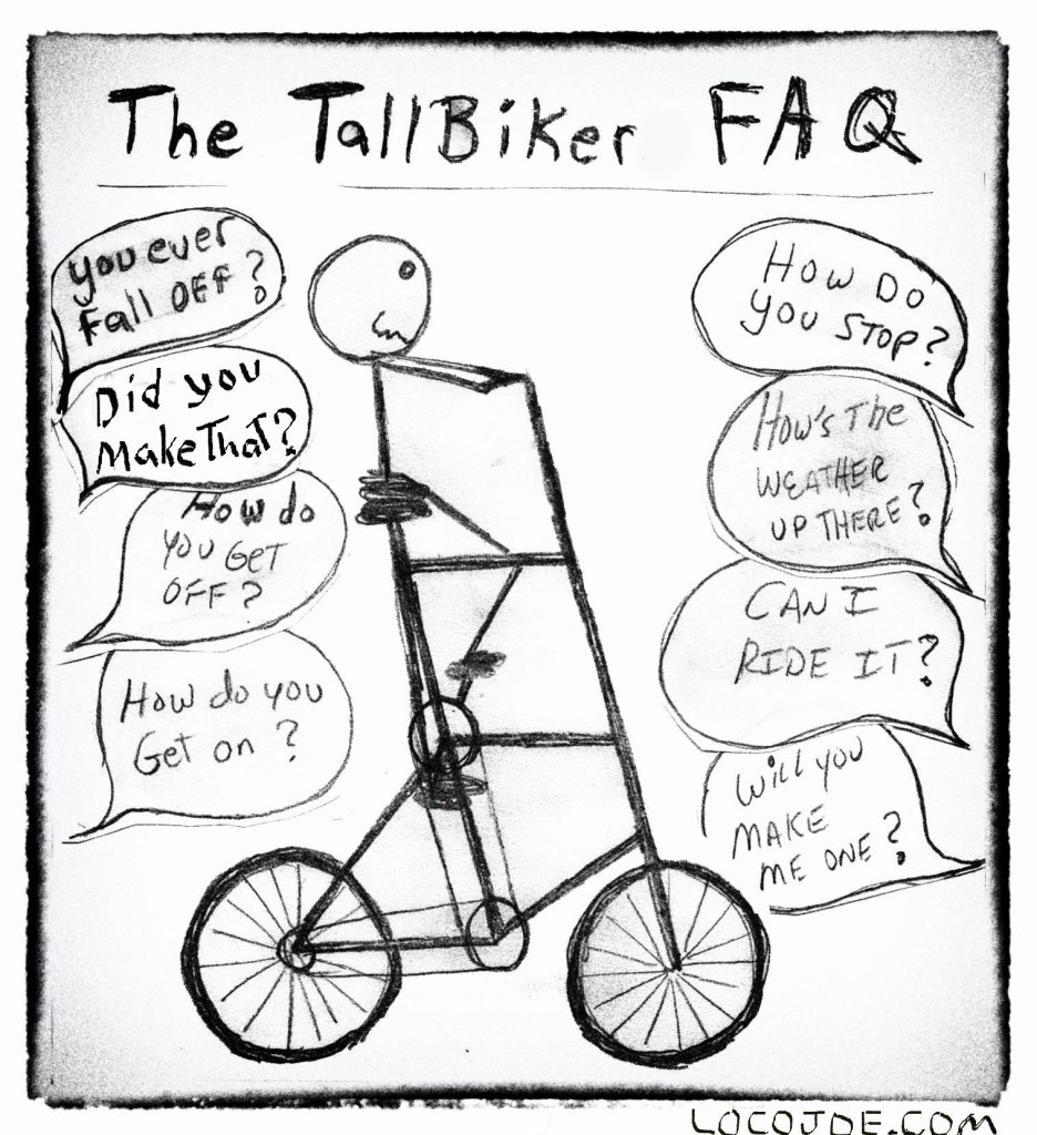 My tall biker FAQ.