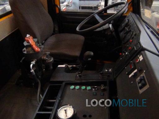 Автокран железнодорожный МАЗ маневровый локомобиль
