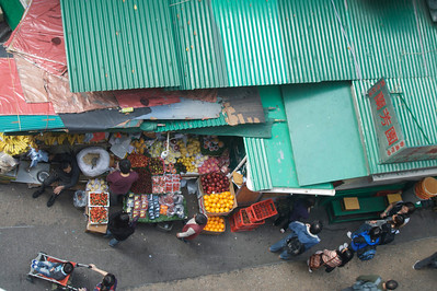 View of a produce shop