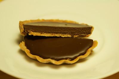 Choclate tart at CB