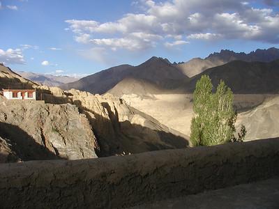 View from Lamayuru monastery