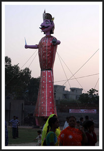 Ramlila Effigy