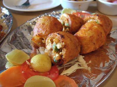 Taka-tak aloo at Pindi restaurant