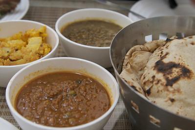 Lunch at Triveni Kala Sangam