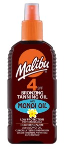SPF4 Bronzing Oil with Monoi available on LocoSoco