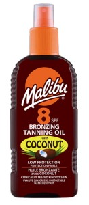 SPF8 Bronzing Oil with Coconut available on LocoSoco