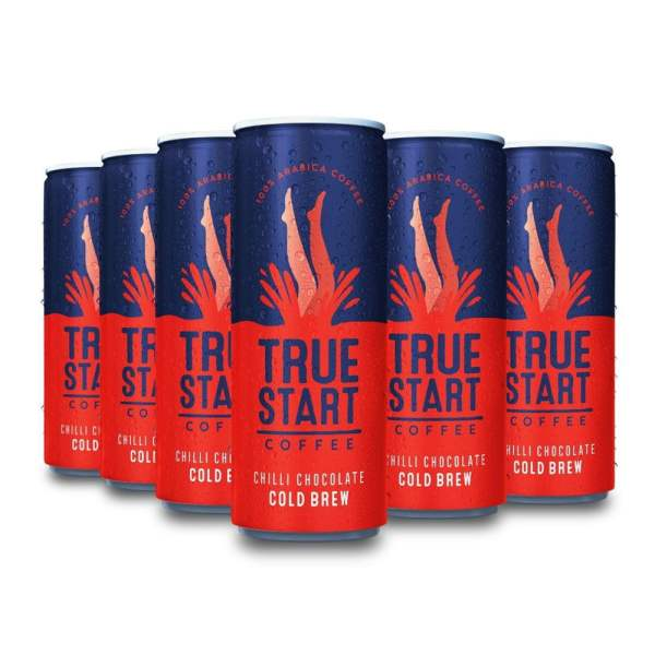 Cold Brew Chilli Chocolate - 250ml x 12 by TrueStart Available on LocoSoco