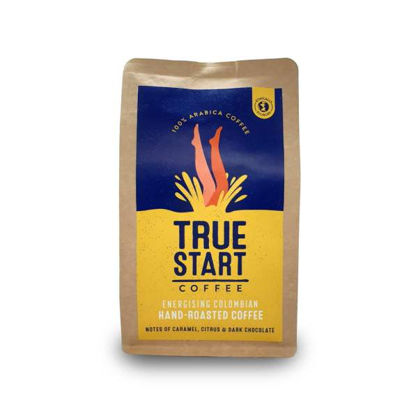 Ground Energising Colombian - 200g Bag x 6 by TrueStart Available on LocoSoco